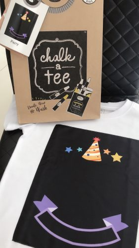 Chalk-A-Party Tee photo review