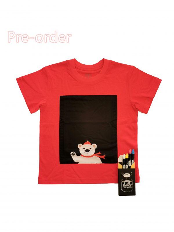 Christmas pola bear T-shirt