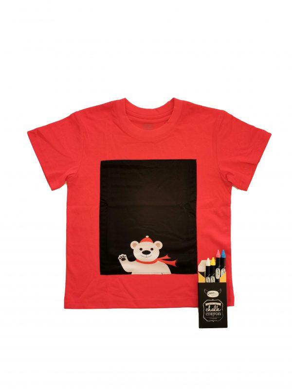 Christmas polar bear T-shirt